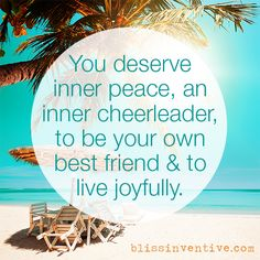 Be kind to yourself & be your best friend - Bliss Inventive