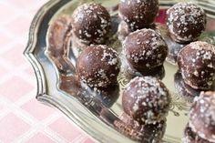 Raspberry-Chipotle Truffles