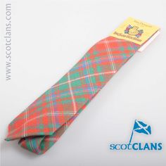 MacDougall Ancient Tartan Tie. Free worldwide shipping available.