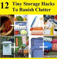 12 Tiny Storage Hacks to Banish Clutter