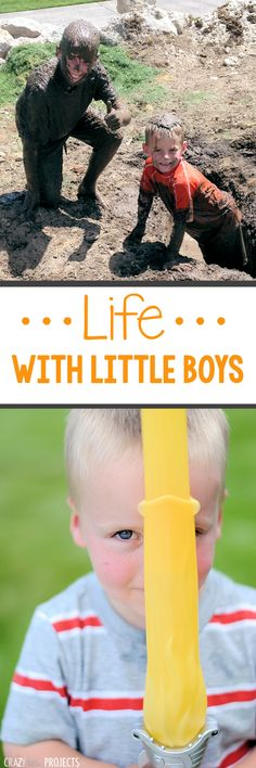 Thoughts on Raising Little Boys~From a Mom of 4 Boys