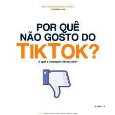 Você anuncia no TikTok? #tiktok #marketingdigital #marketing North Face Logo, The North Face, Digital Marketing, Not Worth It, Apps