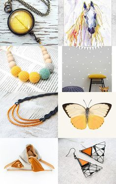 Yellow River  by Ivanna on Etsy--Pinned with TreasuryPin.com