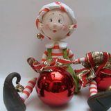 *SORRY, no information as to product used ~ Duende de Natal Christmas 2016, Merry Christmas, Christmas Ornaments, Polymer Clay Christmas, Clay Baby, Sugar Art, Christmas Projects, Christmas Ideas, Cake Art