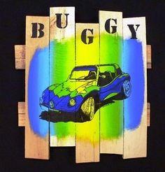 Buggy blauw