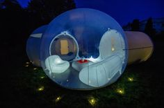 Staying in the outdoors just got more luxurious with Casa Bubble   The Luxury Post