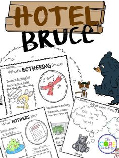 This read-aloud pack on the book 'Hotel Bruce' is unique in that it holds on to the tradition of reading aloud for pleasure, but also focuses on meeting core standards and aiding in comprehension at the same time. We have included rigorous text dependent questions where students use evidence from the text to deepen their understanding of the story. We have also included differentiated graphic organizers and response-to-text activities to incorporate writing standards.