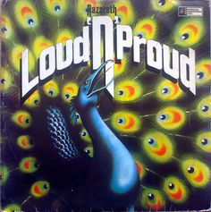 Nazareth Loud 'N' Proud on Import LP With their 1974 album Loud 'n' Proud, their fourth overall, the Scottish hard rock group Nazareth turned up the heat even further on the heavy metal sound tha Greatest Album Covers, Rock Album Covers, Lps, Lp Cover, Cover Art, Nazareth Band, 11 September 2001, Classic Rock Albums, Rock Cover