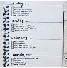 So neat and clean Daily Bullet Journal, Bullet Journal Hacks, Bullet Journal Layout, My Journal, Bullet Journal Inspiration, Bullet Journals, Bujo, Organization Bullet Journal, School Notes