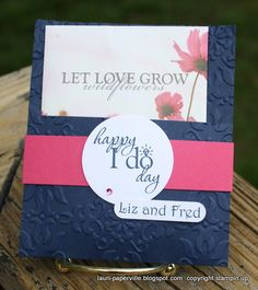 Wedding Shower Favor by Lauriloo - Cards and Paper Crafts at Splitcoaststampers