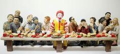 Ronald McDonald's Last Supper | Visual Culture