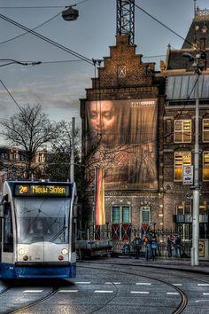 Paulus Potterstraat, back of the Rijksmuseum, Amsterdam) - R_22.07.2014 - Netherlands #Amsterdam http://Bukerz.com