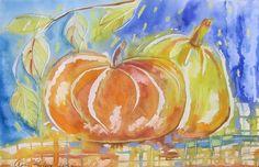 Olga Pavlova.Joy of Creation.: Pumpkins