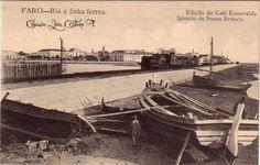 Faro : Ria e linha Ferrea