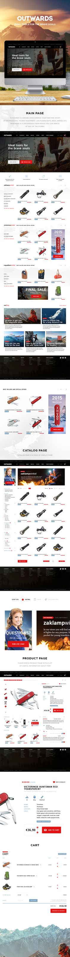 Outwards on Behance