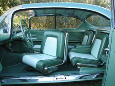 1955 Chevrolet Biscayne concept car interior. An original pic of the car; http://www.pinterest.com/pin/102105116525261061/