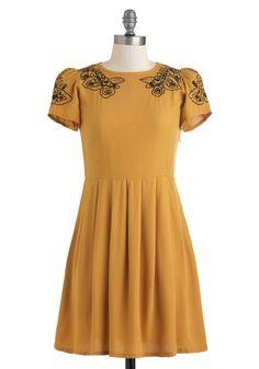Cumin Right Up Dress   Mod Retro Vintage Dresses   ModCloth.com