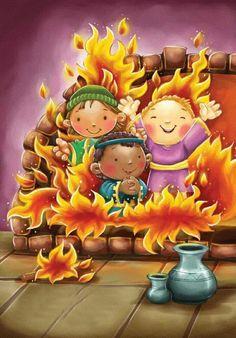 Bible Stories For Kids, Bible Study For Kids, Bible Images, Bible Pictures, Preschool Bible, Bible Activities, Bible Crafts, Bible Art, Bible Cartoon