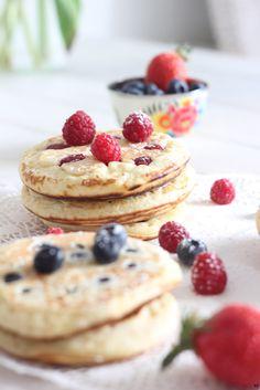 Pancakes légers et moelleux