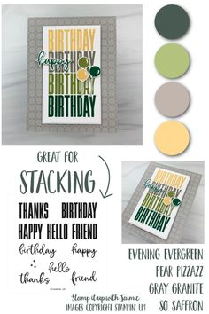 Happy Evening, Thankful For Friends, Fabric Cards, Image Stamp, Stamping Up Cards, Card Tutorials, Handmade Birthday Cards, Scrapbook Cards, Scrapbooking