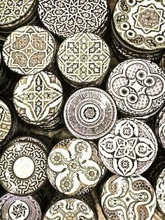 To know more about モロッコ お皿, visit Sumally, a social network that gathers together all the wanted things in the world! Moroccan Art, Moroccan Interiors, Moroccan Design, Moroccan Style, Moroccan Bedroom, Moroccan Dishes, Ceramic Plates, Ceramic Pottery, Ceramic Art