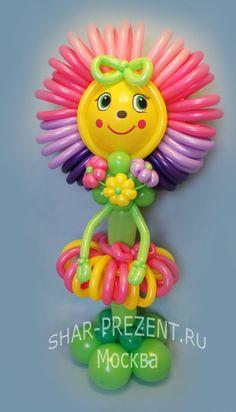 Gallery.ru / Цветочек, 2м - Букеты, цветы и композиции из воздушных шаров - shar-prezent
