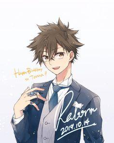 Reborn Katekyo Hitman, Hitman Reborn, Bishounen, Boku No Hero Academia, Detective, Anime Art, Illustration Art, Fan Art, Couple