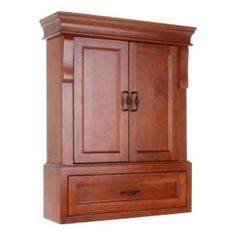 Foremost Naples 26 3/4 In. W Bathroom Storage Wall Cabinet In Warm