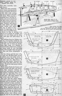 Zephyr Boat Plans