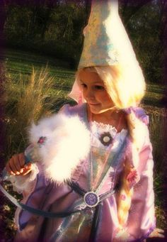Made my daughter's Rapunzel costume