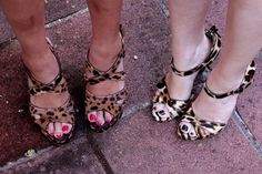 Leopard print shoes!
