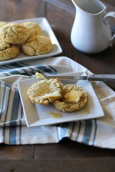 Grain-Free Southern-Style Biscuits from Kelly Smith's Cookbook Everyday Grain-Free Baking | theroastedroot.net #glutenfree #dairyfree #paleo