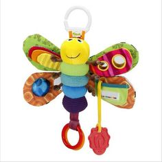 Baby Girl/Boy 0-12 Month Toys Stroller/Bed Hanging Butterfly/Bee Handbell Rattle/Mobile