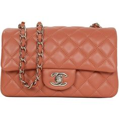 aea4a424b1e7 The Chanel Classic Flap Dark Orange Quilted Rectangular Mini Cross Body Bag  is a top 10 member favorite on Tradesy.