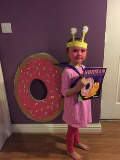 Norman the Slug with the Silly Shell World Book day!!