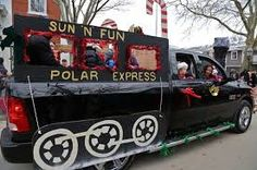 Image result for polar express christmas float