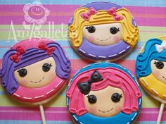 Lalaloopsy Cookies by Amigalletas on Etsy, $39.00