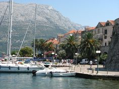 Korcula village ; Croatia