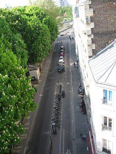 vélo sur les quais un dimanche ensoleillé...