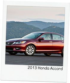 """2013 Honda Accord   """"Repin"""" if this is your pick! #topcars"""