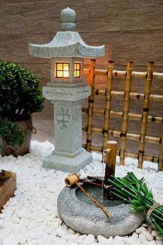 Um trabalho bem acabado com dicas para fazer um jardim oriental  #JapaneseGarden