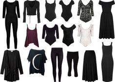 Strega's Forest - My Strega all year round wardrobe (2015-2016). As...