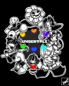 i finally finished undertale,and now i can't stop drawing it on my sketchbook :v, so i had to do a better picture :3