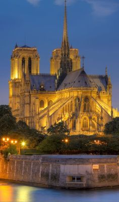 Beautiful Notre Dame, Paris, France ~