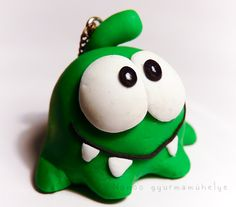 Polymer clay Cut the rope figure by Nonoo