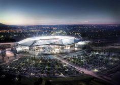 Grand Stade de l'Olympique Lyonnais à Décines par le cabinet Populous