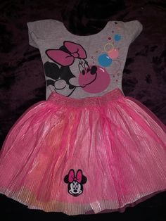 e1edf5ed0f2c minnie mouse tutu 2t pink disney brand barely worn summer spring birthday  body #fashion #. Minnie MouseBaby & Toddler ClothingGirl ...