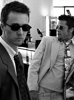 """We were selling rich women their own fat asses back to them."" #FightClub"