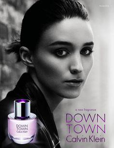 Rooney Mara - Calvin Klein Downtown Fragrance 2013