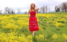 Hey, I found this really awesome Etsy listing at https://www.etsy.com/listing/188298519/vintage-70s-mexican-dress-hippie-boho